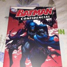 Cómics: BATMAN CONFIDENCIAL 1 REGLAS DE COMBATE PLANETA DEAGOSTINI. Lote 210487157