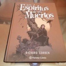 Comics : RICHARD CORBEN LOS ESPIRITUS DE LOS MUERTOS EDGAR ALLAN POE ED.PLANETA COMIC CREEPY. Lote 210622387