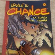 Cómics: LEAVE IT TO CHANCE - LA LLUVIA DEL CHAMÁN - N 1. Lote 210967215