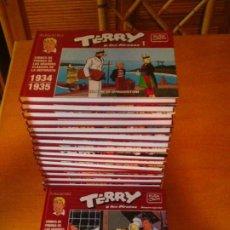 Cómics: TERRY Y LOS PIRATAS - PLANETA - COLECCION COMPLETA - 16 TOMOS +1 ESPECIAL - NUEVOS - GORBAUD. Lote 211459314