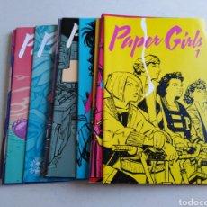 Cómics: LOTE DE 14 CÓMIC PAPER GIRLS. Lote 211659729