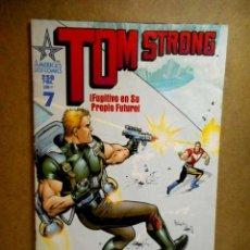 Cómics: TOM STRONG Nº 7 : FUGITIVO EN SU PROPIO FUTURO. Lote 211863958