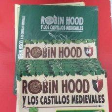 Cómics: ROBIN HOOD Y LOS CASTILLOS MEDIEVALES (PLANETA DEAGOSTINI). COLECCIÓN COMPLETA 1-60 FASCÍCULOS. Lote 211872651