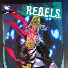 Cómics: R.E.B.E.L.S. 4: HIJOS DE BRAINIAC. Lote 211874582