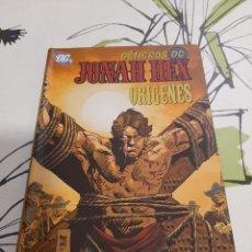 Cómics: JONAH HEX ORIGENES JORDI BERNET ENTRE OTROS. Lote 212220472