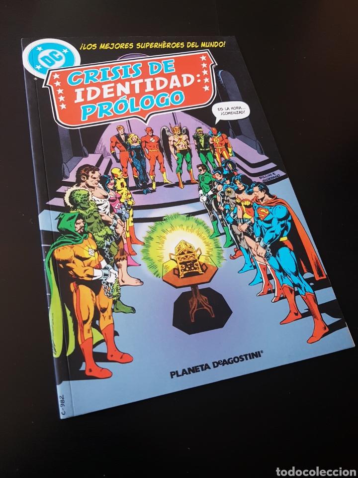 DE KIOSCO CRISIS DE IDENTIDAD PROLOGO TOMO PLANETA (Tebeos y Comics - Planeta)