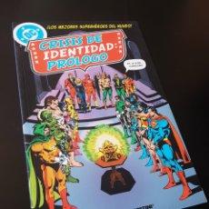 Cómics: DE KIOSCO CRISIS DE IDENTIDAD PROLOGO TOMO PLANETA. Lote 212594372
