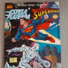Cómics: CROSSOVER ESTELA PLATEADA SUPERMAN. EXCELENTE ESTADO. Lote 213973562