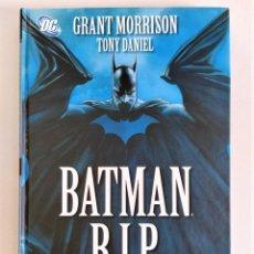 Cómics: BATMAN - RIP (GRANT MORRISON, TONY DANIEL) ~ DC / PLANETA - ED. TAPA DURA (2009). Lote 213979910