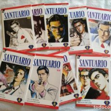 Cómics: SANTUARIO 1 A 9 COMPLETA - PLANETA- DE LUJO!!!. Lote 214028571
