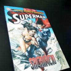 Cómics: DE KIOSCO SUPERMAN SACRIFICIO TOMO PLANETA. Lote 214783533