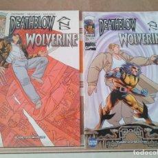 Cómics: WOLVERINE AND DEATHBLOW 1 Y 2 - LOBEZNO COMIC. Lote 215457210