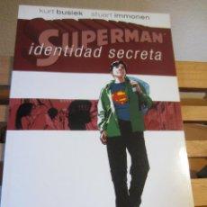 Cómics: SUPERMAN- IDENTIDAD SECRETA- PLANETA DEAGOSTINI. Lote 215788900