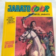 Cómics: JABATO COLOR. ALBUM EL JABATO. CONTIENE UNA AVENTURA COMPLETA A TODO COLOR. ESCLAVOS DE ROMA. PLANET. Lote 215793612