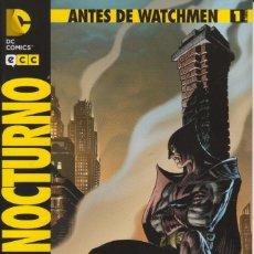Cómics: CÓMIC DC ANTES DE WATCHMEN - BUHO NOCTURNO Nº 1 ED, PLANETA / ECC 32 PGS.. Lote 215924206