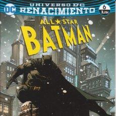 Cómics: CÓMIC DC ALL STAR BATMAN Nº 6 ED, PLANETA 48 PGS.. Lote 215932553