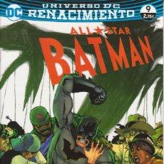Cómics: CÓMIC DC ALL STAR BATMAN Nº 9 ED, PLANETA 32 PGS.. Lote 215933620
