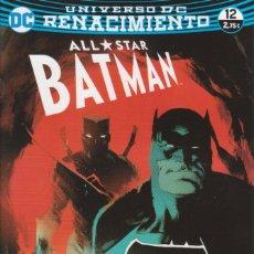 Cómics: CÓMIC DC ALL STAR BATMAN Nº 12 ED, PLANETA 32 PGS.. Lote 215933800
