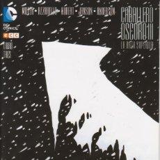 Cómics: CÓMIC DC BATMAN CABALLERO OSCURO Nº 3 ED, PLANETA / ECC 32 PGS. (CONTIENE CUADERNILLO INTERIOR). Lote 215937437