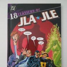 Cómics: CLASICOS DC - JLA / JLE Nº 18 - TOMO DC PLANETA DE AGOSTINI. Lote 217617803