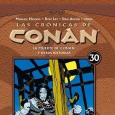 Cómics: LAS CRONICAS DE CONAN Nº 30 - PLANETA - CARTONE - IMPECABLE - OFI15F. Lote 217660873