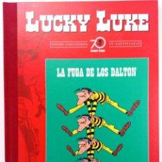 Cómics: LUCKY LUKE - LA FUGA DE LOS DALTON - EDICIÓN COLECCIONISTA. Lote 217688646