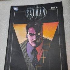 Cómics: BATMAN. ROSTROS. TOMO 4. Lote 217954703
