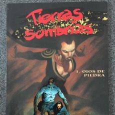 Cómics: TIERRAS SOMBRÍAS 1 - OJOS DE PIEDRA - COLECCIÓN EUROPA - PLANETA DEAGOSTINI - 1997 - ¡COMO NUEVO!. Lote 218101857