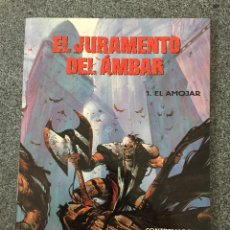 Cómics: EL JURAMENTO DEL AMBAR 1 - EL AMOJAR - COLECCIÓN EUROPA - PLANETA DEAGOSTINI- 1996 - ¡NUEVO!. Lote 218106601
