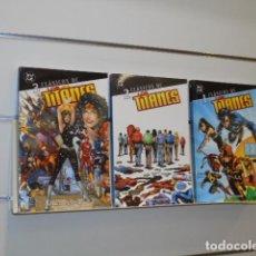 Cómics: CLASICOS DC LOS TITANES COMPLETA 3 TOMOS - PLANETA. Lote 218529726