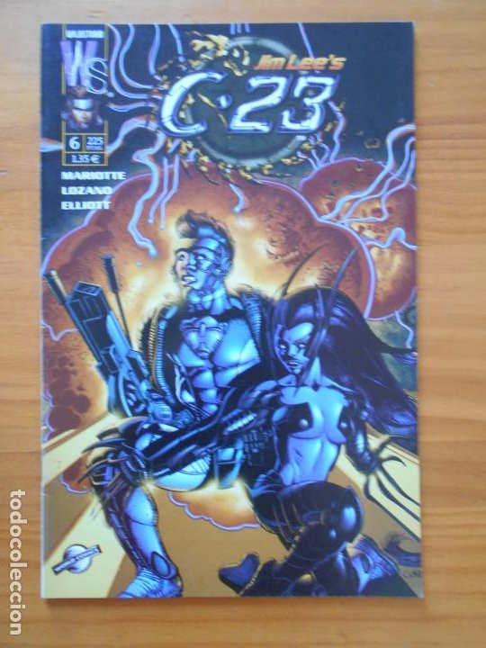 Cómics: C-23 Nº 6 - JIM LEE - WILDSTORM - PLANETA (Z) - Foto 1 - 218682100