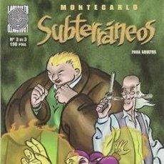 Cómics: SUBTERRÁNEOS #3. Lote 218924948