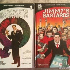 Cómics: JIMMY'S BASTARDS - COOMPLETA - GARTH ENNIS - PLANETA COMIC. Lote 219037322