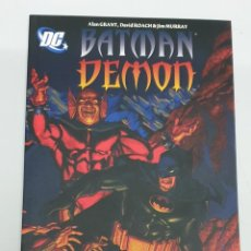 Cómics: BATMAN / DEMON ¡ ONE SHOT 96 PAGINAS ! ALANT GRANT / DC - PLANETA. Lote 219065621