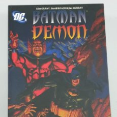 Cómics: BATMAN / DEMON ¡ ONE SHOT 96 PAGINAS ! ALANT GRANT / DC - PLANETA. Lote 219065643