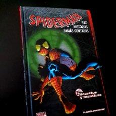 Cómics: SPIDERMAN LAS HISTORIAS JAMAS CONTADAS 2 NORMAL ESTADO PLANETA. Lote 219173021