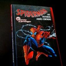 Cómics: SPIDERMAN LAS HISTORIAS JAMAS CONTADAS 1 NORMAL PLANETA. Lote 219173261