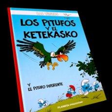 Cómics: DE KIOSCO LOS PITUFOS 6 LOS PITUFOS Y EL KETEKASKO PLANETA. Lote 219252720