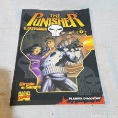 Cómics: COMIC THE PUNISHER EL CASTIGADOR N°1. Lote 219589126