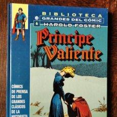 Cómics: EL PRÍNCIPE VALIENTE 1945-1947. BIBLIOTECA GRANDES DEL COMIC HAROLD FOSTER Nº 6- ALBUM TAPA DURA. Lote 220410033