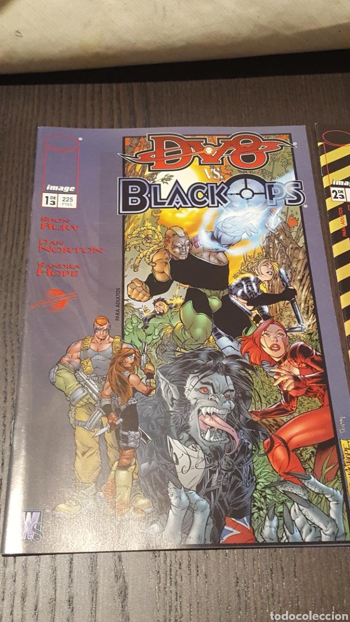 Cómics: Comics - DV8 VS. BLACK OPS ( SHON BURY ) COLECCIÓN COMPLETA - 3 EJEMPLARES - IMAGE - PLANETA - Foto 2 - 220519536