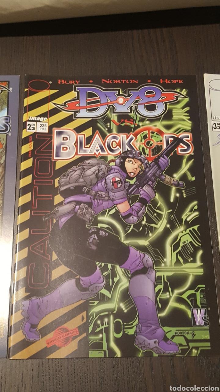 Cómics: Comics - DV8 VS. BLACK OPS ( SHON BURY ) COLECCIÓN COMPLETA - 3 EJEMPLARES - IMAGE - PLANETA - Foto 3 - 220519536