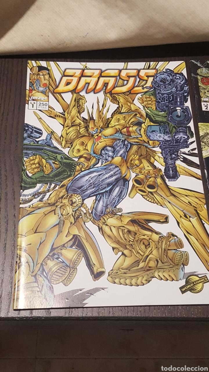 Cómics: Comics - BRASS (ARON WIESENFELD) MINISERIE 3 NUM COMPLETA · IMAGE PLANETA - IMPECABLE - Foto 2 - 220766190