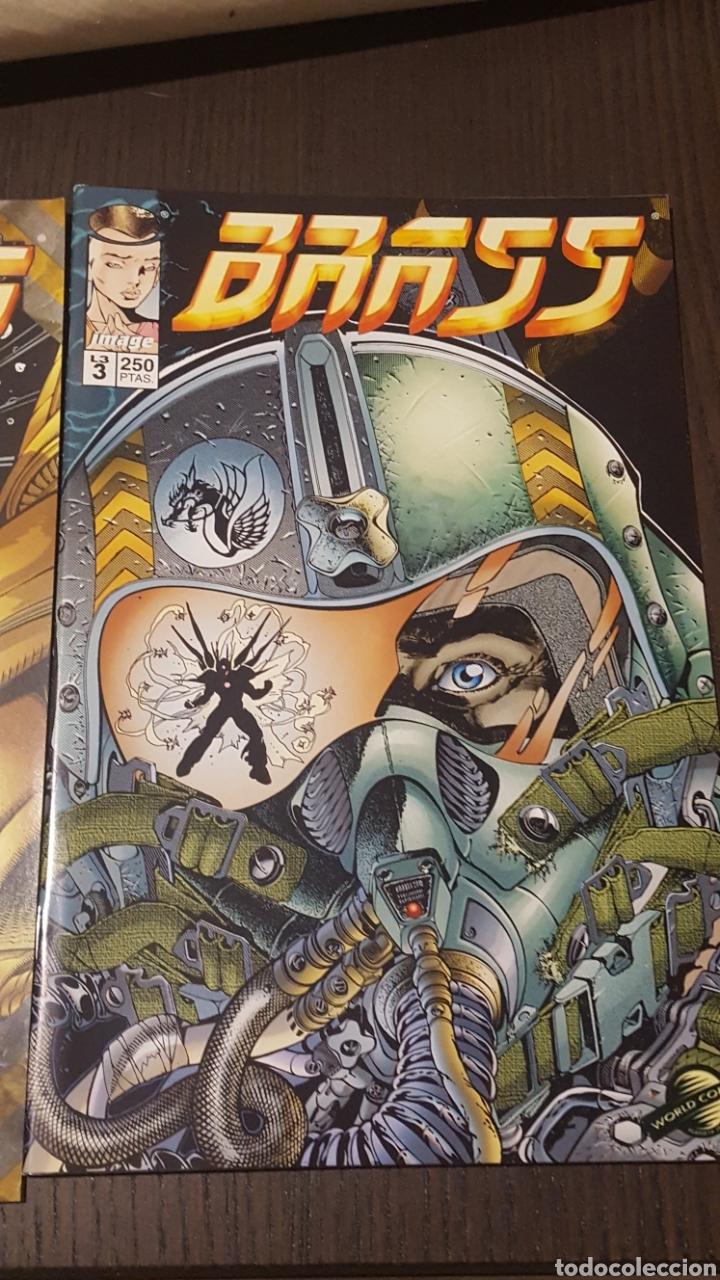 Cómics: Comics - BRASS (ARON WIESENFELD) MINISERIE 3 NUM COMPLETA · IMAGE PLANETA - IMPECABLE - Foto 3 - 220766190
