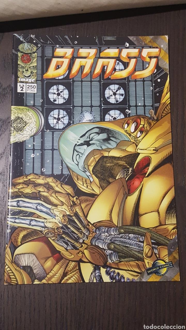 Cómics: Comics - BRASS (ARON WIESENFELD) MINISERIE 3 NUM COMPLETA · IMAGE PLANETA - IMPECABLE - Foto 5 - 220766190
