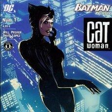 Cómics: BATMAN PRESENTA: CATWOMAN NÚM 1. Lote 220902511