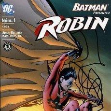 Cómics: BATMAN PRESENTA: ROBIN NÚM 1. Lote 220902576