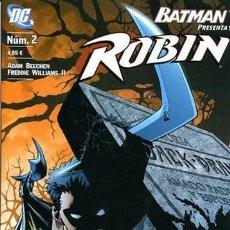 Cómics: BATMAN PRESENTA: ROBIN NÚM 2. Lote 220902580