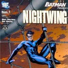 Cómics: BATMAN PRESENTA: NIGHTWING NÚM 1. Lote 220902595