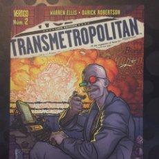 Comics: TRANSMETROPOLITAN N.2 REGRESO A LAS CALLES PLANETA COMIC ( 2006/2009 ).. Lote 221139443